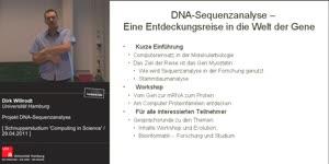 Thumbnail - DNA-Sequenzanalyse - Eine Entdeckungsreise in die Welt der Gene