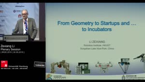 Thumbnail - Day 2 - From Geometry to Startups and to... Incubators (Plenary Session)