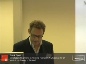 Miniaturansicht - Metafictional Elements in Fictional Narration: A Challenge for an Institutional Theory of Fiction?