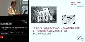 """Thumbnail - """"Flüchtlingskinder"""" und """"Ausländerkinder"""" in Hamburger Schulen seit 1945"""