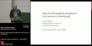 Miniaturansicht - Warum Philosophie studieren und warum in Hamburg?