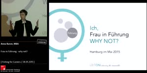 Thumbnail - Frau in Führung - Why not?