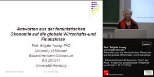Vorschaubild - Antworten aus der feministischen Ökonomie auf die globale Wirtschafts- und Finanzkrise