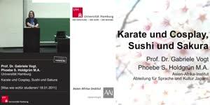 Miniaturansicht - Karate und Cosplay, Sushi und Sakura