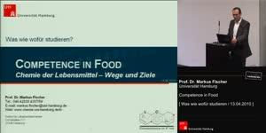 Miniaturansicht - Competence in Food. Chemie der Lebensmittel – Wege und Ziele