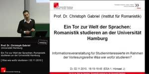Miniaturansicht - Ein Tor zur Welt der Sprachen: Romanistik studieren an der Universität Hamburg