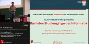 Miniaturansicht - Form die Zukunft: Bachelorstudiengänge in der Informatik