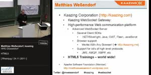 Miniaturansicht - WebSocket und HTML5