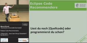 Miniaturansicht - Eclipse Code Recommenders
