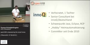 Miniaturansicht - openHAB empowering the smart home