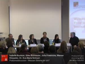 Miniaturansicht - (9) Tagung - PR und Journalismus - PODIUMSDISKUSSION: Wessen Stimme bin ich? Freie Journalisten zwischen Journalismus und PR