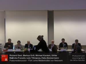 Vorschaubild - (10) Tagung- PR und Journalismus - PODIUMSDISKUSSION: Fünf Jahre Medienkodex von Netzwerk Recherche e.V. - eine Zwischenbilanz