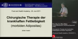 Miniaturansicht - Chirurgische Behandlung der krankhaften Fettleibigkeit (morbiden Adipositas)