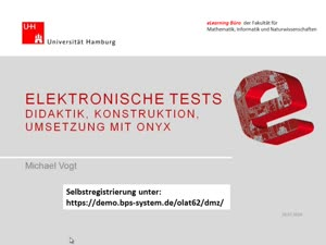 Miniaturansicht - Elektronische Tests - Didaktik