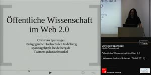 Miniaturansicht - Öffentliche Wissenschaft im Web 2.0
