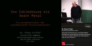 Miniaturansicht - Zwischen Eskimohouse und Death Metal – Die Welt der systematischen Musikwissenschaft
