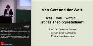 Miniaturansicht - Von Gott und der Welt. Was wie wofür … ist das Theologiestudium?