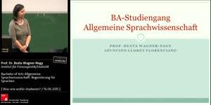Miniaturansicht - Bachelor of Arts Allgemeine Sprachwissenschaft: Begeisterung für Sprachen