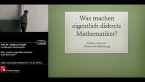 Miniaturansicht - Was machen eigentlich diskrete Mathematiker?