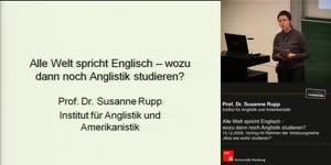 Miniaturansicht - Alle Welt spricht Englisch – wozu dann noch Anglistik studieren?
