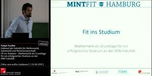 Miniaturansicht - Fit ins Studium - Mathematik als Grundlage für ein erfolgreiches Studium an der MIN-Fakultät