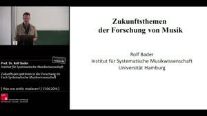Miniaturansicht - Zukunftsperspektiven in der Forschung im Fach Systematische Musikwissenschaft