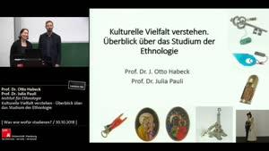 Miniaturansicht - Kulturelle Vielfalt verstehen - Überblick über das Studium der Ethnologie