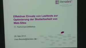 Miniaturansicht - Effektiver Einsatz von  Lasttest zur Optimierung der Saklierbarkeit  von Websites bei OTTO