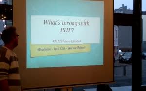 Miniaturansicht - What's wrong with PHP?