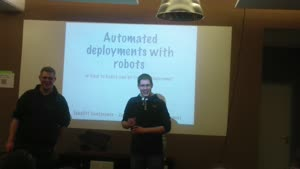 Miniaturansicht - Automated Deployments with Robots