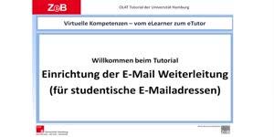Miniaturansicht - Abonnement von OLAT Kursbausteinen und Einrichten der Weiterleitung von E-Mails