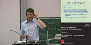 Miniaturansicht - Grundlagen des Verwaltungsrechts 11. Termin (28.06.2012)