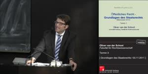 Miniaturansicht - Grundlagen des Staatsrechts 3. Termin (03.11.2011)