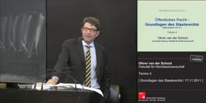 Miniaturansicht - Grundlagen des Staatsrechts 4. Termin (17.11.2011)