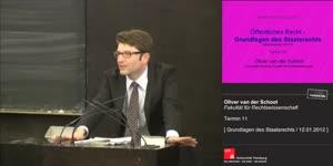 Miniaturansicht - Grundlagen des Staatsrechts 11. Termin (12.01.2012)