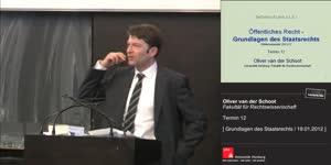 Miniaturansicht - Grundlagen des Staatsrechts 12. Termin (19.01.2012)