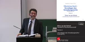 Miniaturansicht - Grundlagen des Verwaltungsrechts 2. Termin (12.04.2012)