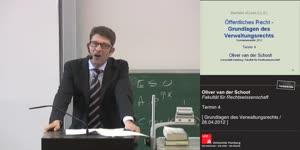 Miniaturansicht - Grundlagen des Verwaltungsrechts 4. Termin (26.04.2012)