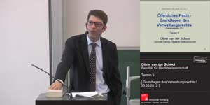 Miniaturansicht - Grundlagen des Verwaltungsrechts 5. Termin (03.05.2012)