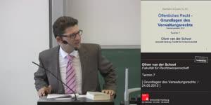 Miniaturansicht - Grundlagen des Verwaltungsrechts 7. Termin (24.05.2012)