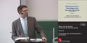 Miniaturansicht - Grundlagen des Verwaltungsrechts 8. Termin (07.06.2012)