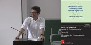 Thumbnail - Grundlagen des Verwaltungsrechts 13. Termin (12.07.2012)