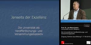Miniaturansicht - Jenseits der Exzellenz - Die Universität als Veröffentlichungs- und Versammlungsdispositiv