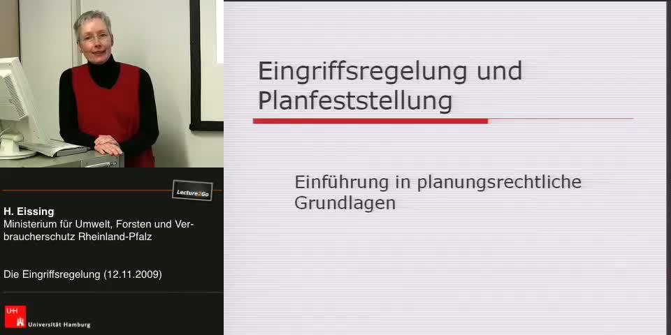 Thumbnail - Einführung in planungsrechtliche Grundlagen