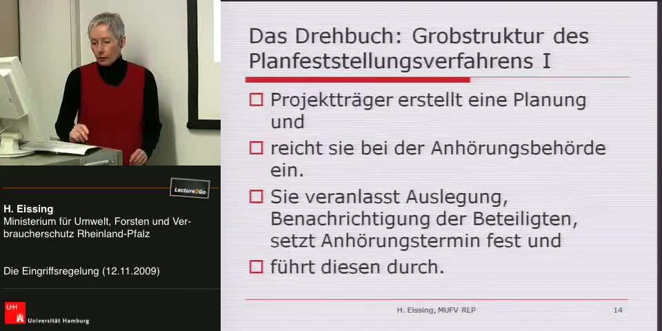 Thumbnail - Das Drehbuch: Grobstruktur des Planfeststellugnsverfahren I