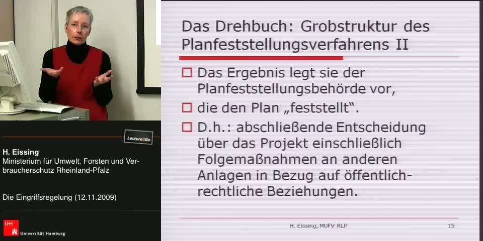 Thumbnail - Das Drehbuch: Grobstruktur des Planfeststellugnsverfahren II
