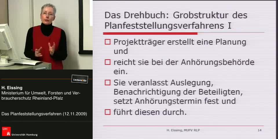 Thumbnail - Das Drehbuch: Grobstruktur des Planfeststellungsverfahren II