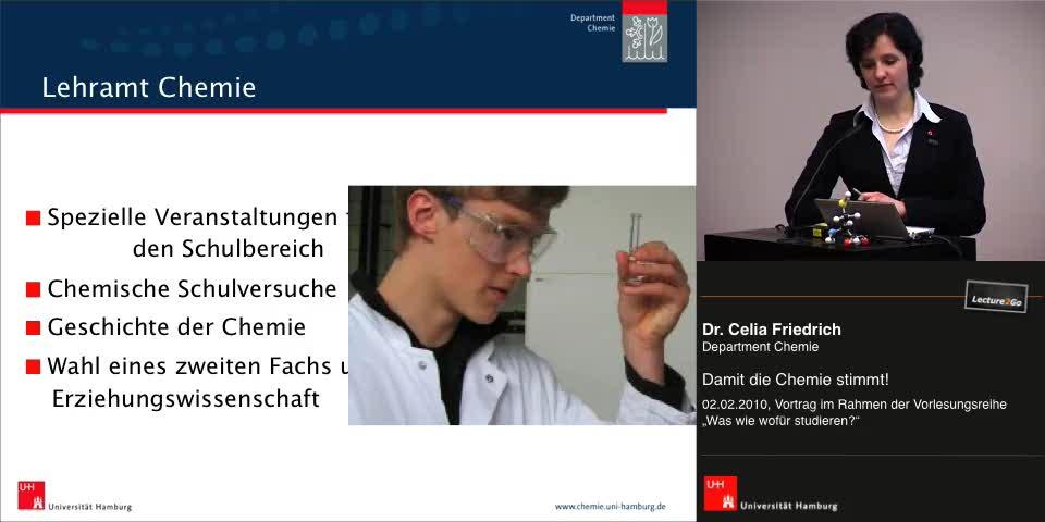 Vorschaubild - Lehramt Chemie; Informationen zum Studium; Bewerbungsverfahren