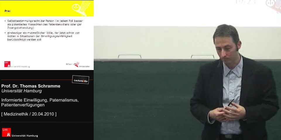 Thumbnail - Pro und contra Berücksichtigung von Verfügungen