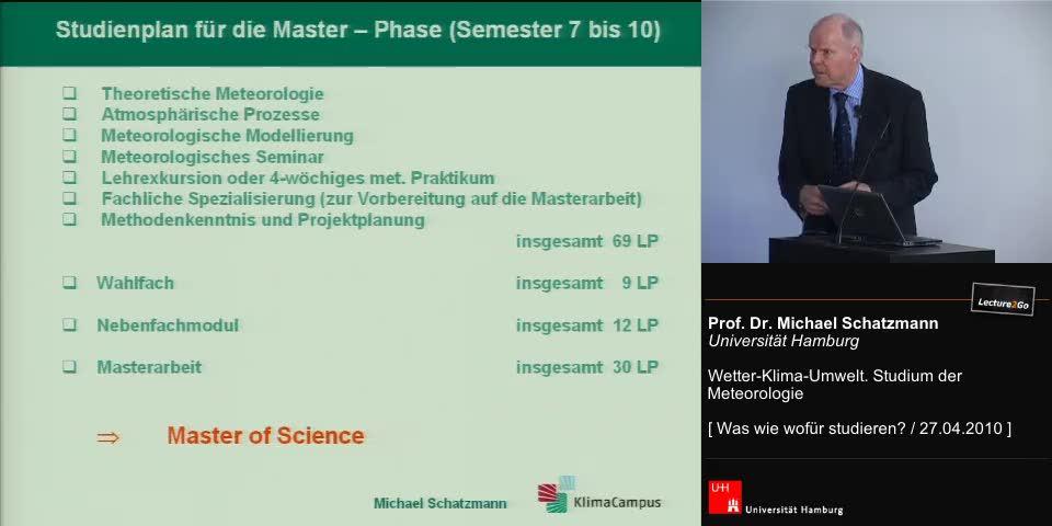 Thumbnail - Studienplan für die Master-Phase (Semester 7 bis 10)